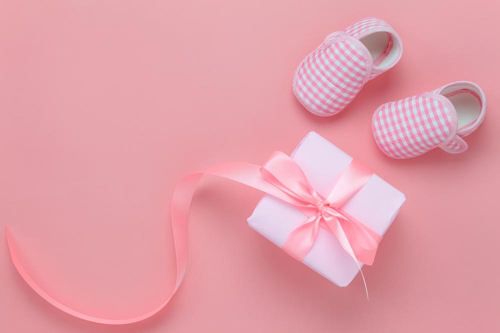 Scarpine neonato rosa