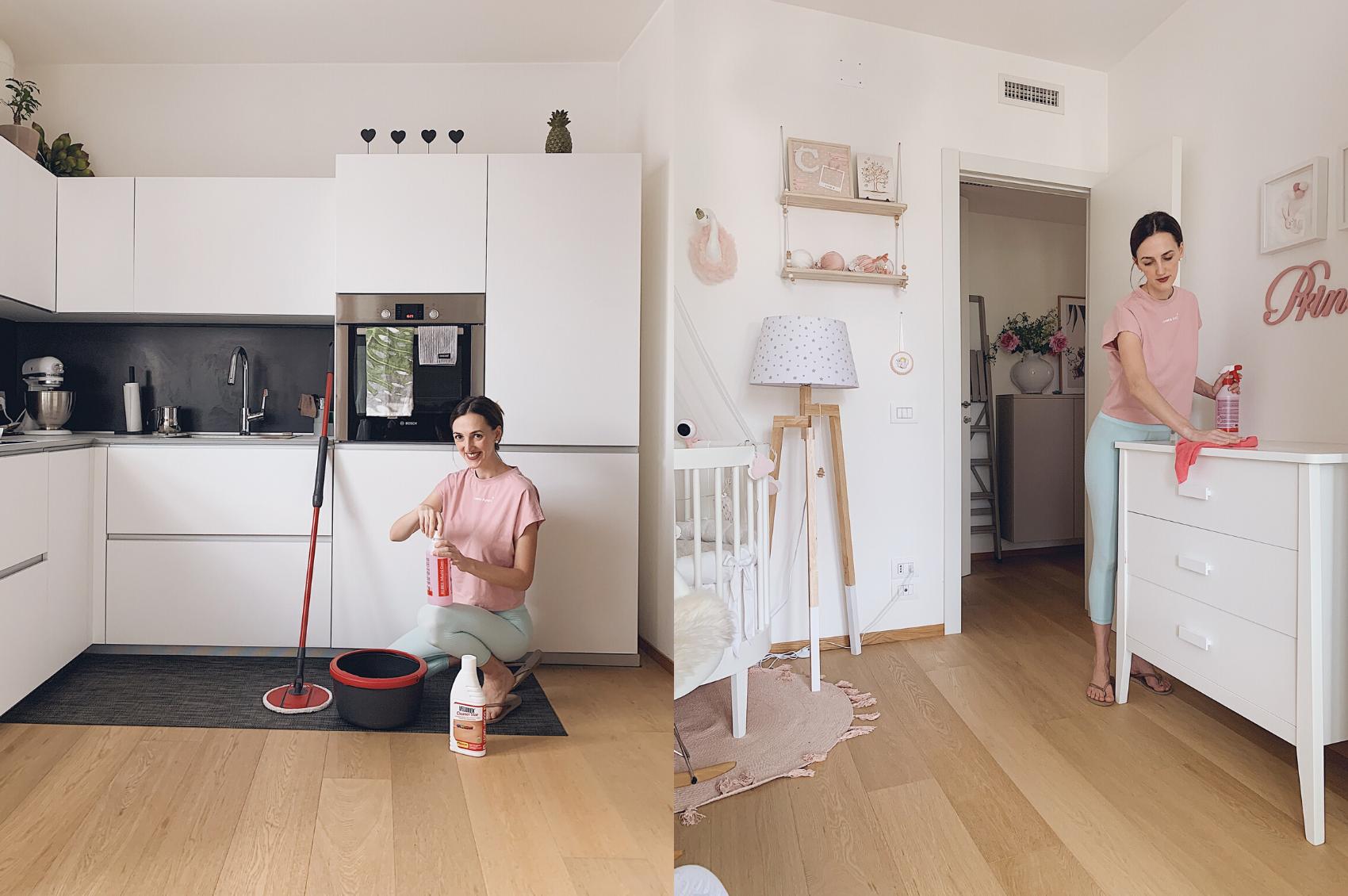 pulizie della casa e igiene