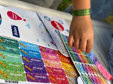 etichette personalizzate adesive stikets