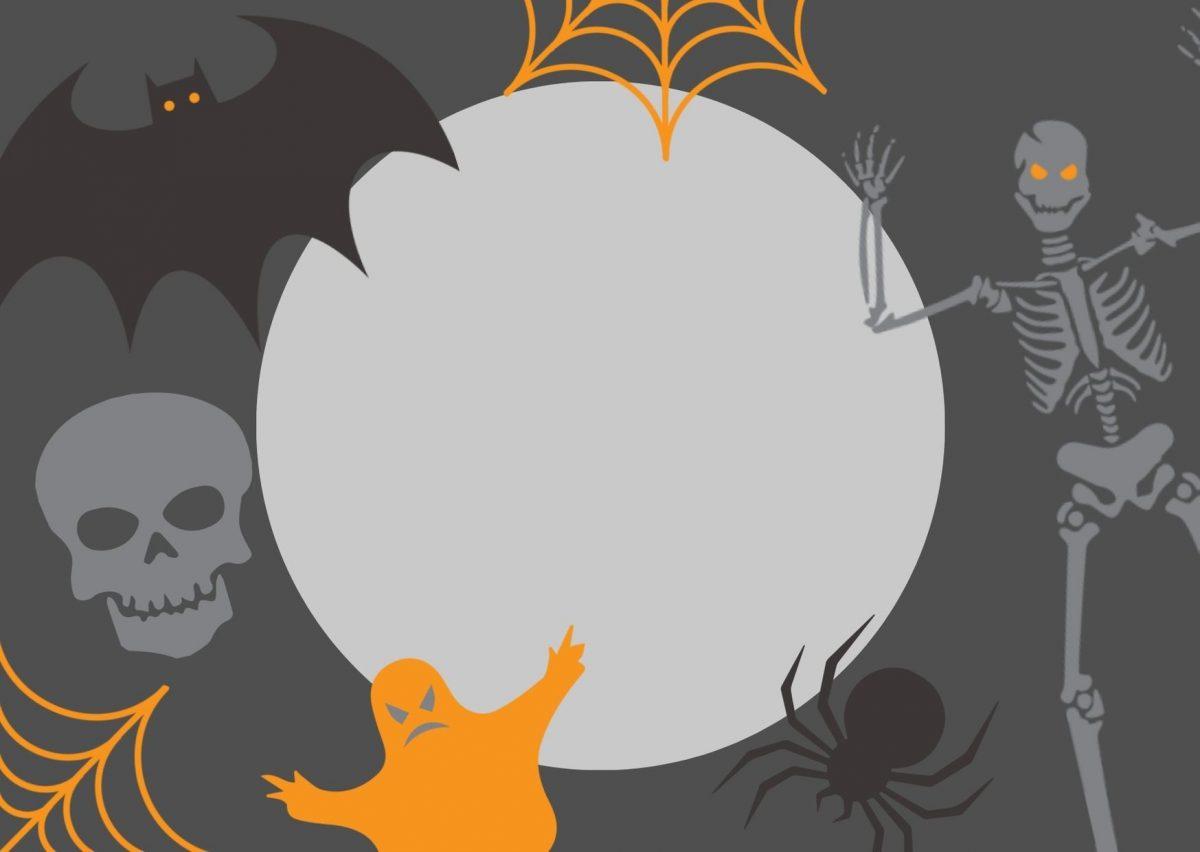 biglietto per caccia al tesoro a tema halloween