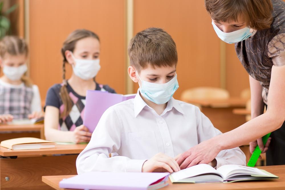 mascherine in classe