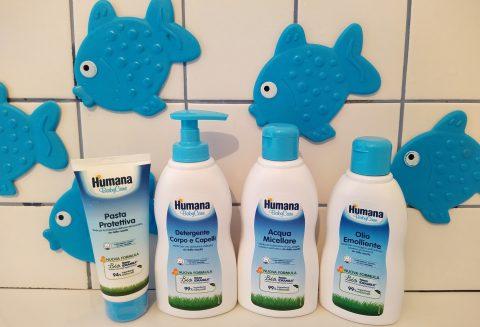 Linea Humana BabyCare_prodotti bagnetti
