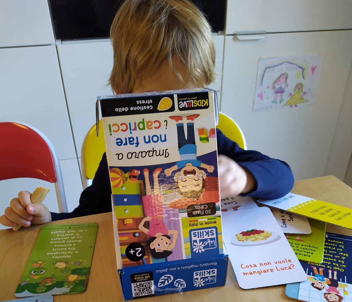 giochi Life skills bambino gioca con imparo a non fare i capricci