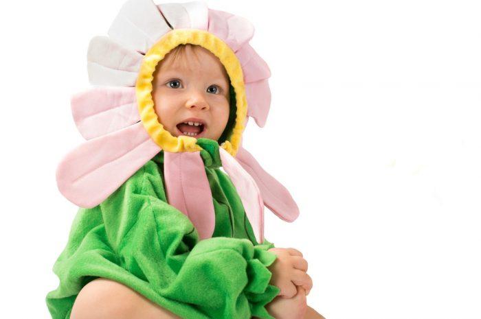 costumi di carnevale per bambin dell'asilo fai da te fiore