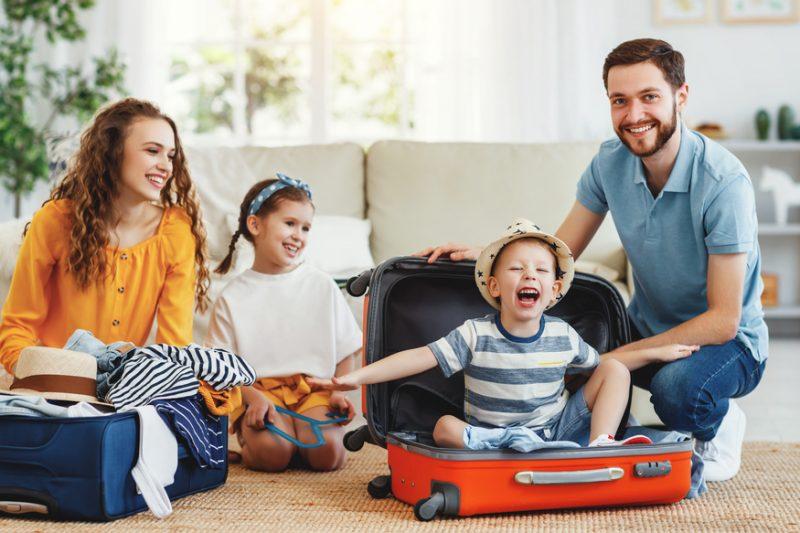 viaggiare con i bambini