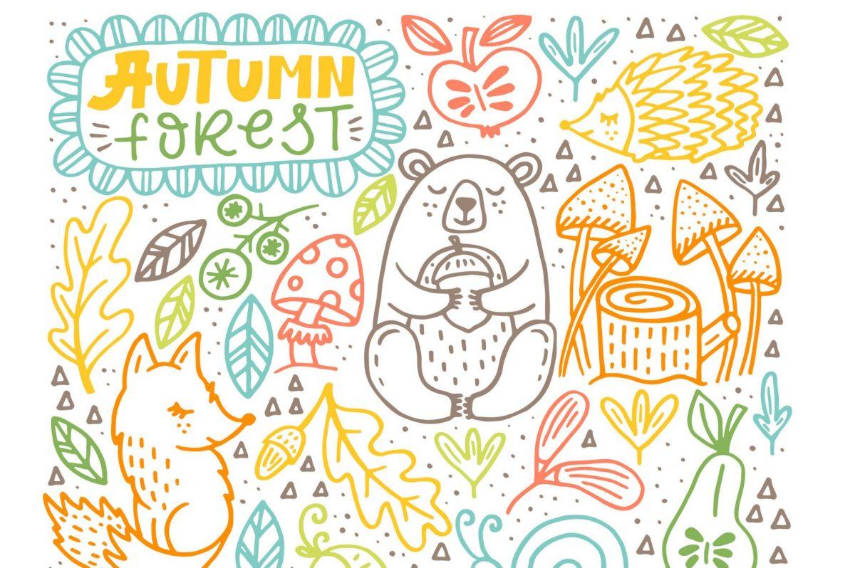disegni autunno