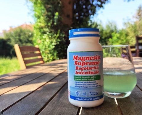 magnesio supremo regolarità intestinale