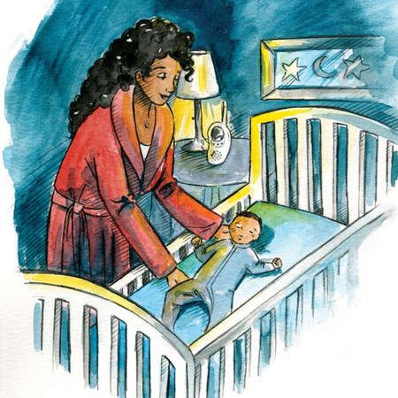 sids-rischio-morte-in-culla-mamma-che-mette-bambino-nella-culla