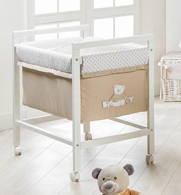 Le nuove culle picci nido e lella - Culla che si attacca al letto prenatal ...